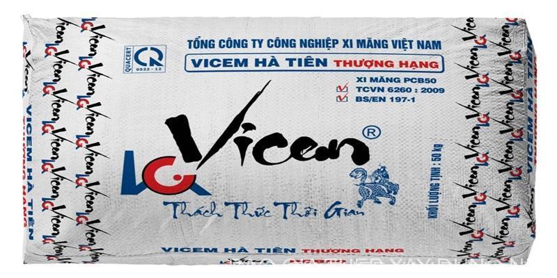 Xi măng Vicem Hà Tiên Thượng hạng PCB50