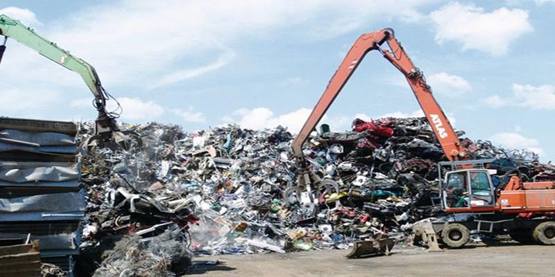 Bãi phế liệu tái chế